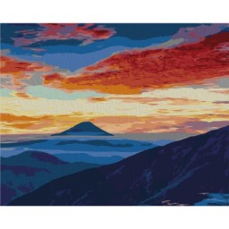 PAINTING BY NUMBERS KIT SUNSET 40X50 CM T40500329
