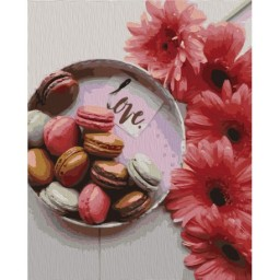 PAINTING BY NUMBERS KIT SWEET GIFT 40X50 CM T40500331