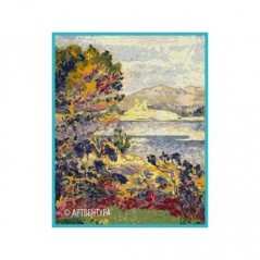 PAINT BY NUMBERS KIT ANTIBES, MORNING EDMUND CROSS 50X40 CM T50400172