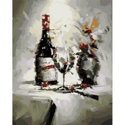 PAINTING BY NUMBERS KIT RENDEZVOUS 50X40CM T50400269