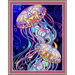DIAMOND PAINTING KIT JELLYFISH AZ-1579