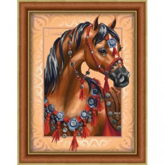 DIAMOND PAINTING KIT ARAB HORSE AZ-1605