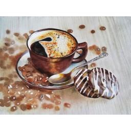 DIAMOND PAINTING KIT REFRESHING COFFEE AZ-1425 Pre-order only