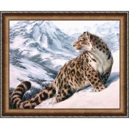 DIAMOND PAINTING KIT SNOW LEOPARD AZ-1520