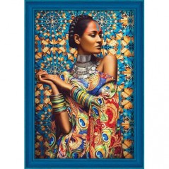 DIAMOND PAINTING KIT BEAUTIFUL IARA AZ-1553