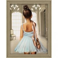 DIAMOND PAINTING KIT YOUNG BALLET DANCER AZ-1559