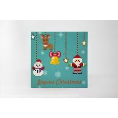 DIAMOND PAINTING CARD JOYOUS CHRISTMAS WC0206