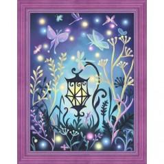 DIAMOND PAINTING KIT MYSTERIOUS LAMP AZ-1612