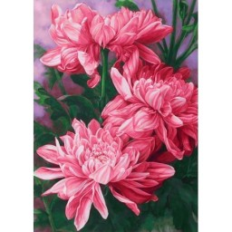 DIAMOND PAINTING KIT DAISIES WD025