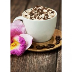 DIAMOND PAINTING KIT CAPPUCCINO WD037 Pre-order only