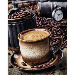 DIAMOND PAINTING KIT COFFEE BREAK WD044