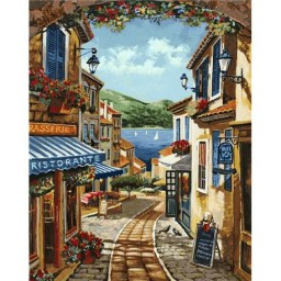 DIAMOND PAINTING KIT SUMMER IN SPAIN WD094