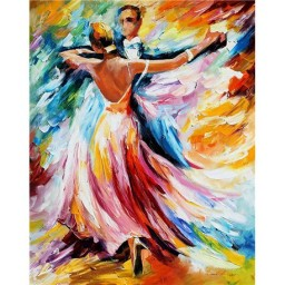 DIAMOND PAINTING KIT DANCE OF COLOURS WD117