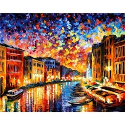 DIAMOND PAINTING KIT GRAND CANAL VENICE WD118