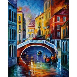 DIAMOND PAINTING KIT VENETIAN COLOURS WD119