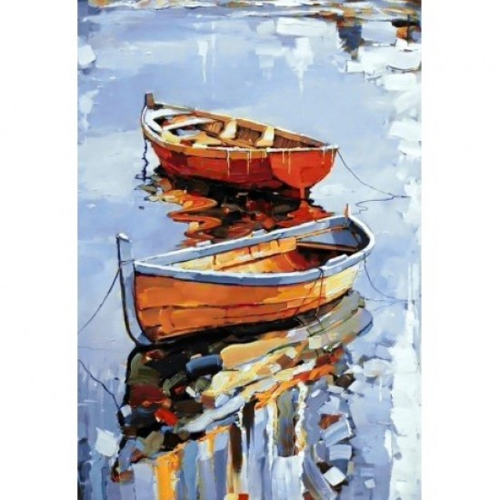 DIAMOND PAINTING KIT BOATS WD122