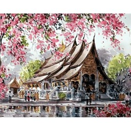 DIAMOND PAINTING KIT PAGODA WD129