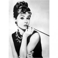DIAMOND PAINTING KIT AUDREY HEPBURN WD132