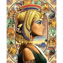 DIAMOND PAINTING KIT QUEEN OF EGYPT WD139