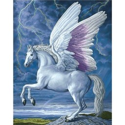 DIAMOND PAINTING KIT PEGASUS WD176