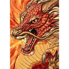 DIAMOND PAINTING KIT CHINESE DRAGON WD177