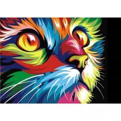 DIAMOND PAINTING KIT RAINBOW CAT WD200