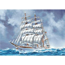 DIAMOND PAINTING KIT SAILING SHIP WD226
