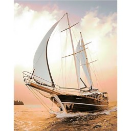 DIAMOND PAINTING KIT YACHT WD227
