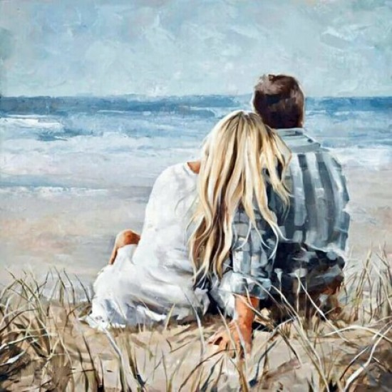 DIAMOND PAINTING KIT ON THE SEA COAST WD2315