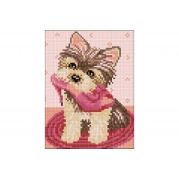 DIAMOND PAINTING KIT LITTLE HELPER WD2383