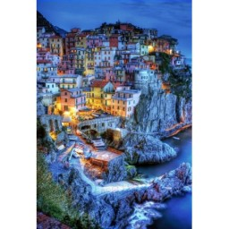 DIAMOND PAINTING KIT OLD TOWN WD2389 Pre-order only