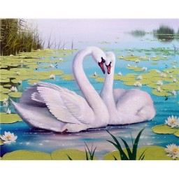 DIAMOND PAINTING KIT SWAN SONG WD239
