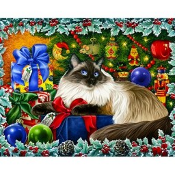 DIAMOND PAINTING KIT CHRISTMAS COLOURS WD2422