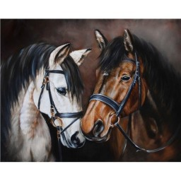 DIAMOND PAINTING KIT HORSE TENDERNESS WD2469