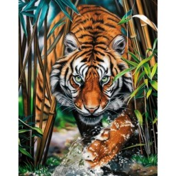 DIAMOND PAINTING KIT PREDATOR WD2482