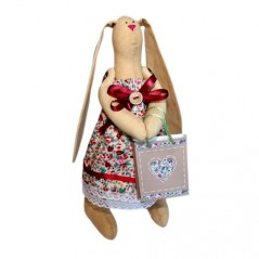 RAG DOLL KIT RABBIT AGATA AM100001L