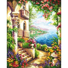 Cross Stitch Kit At the Black Sea art. 48-05