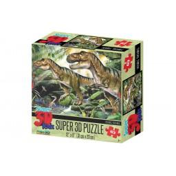 DOUBLE TROUBLE SUPER 3D PUZZLE 63 PIECES
