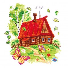 Cross Stitch Kit Bright summer art. 37-04