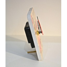 Rectangle Shaped MDF Mini Clock Fashion