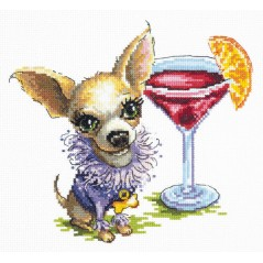 Cross Stitch Kit Chihuahua (dog) art. 16-15