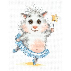 Cross Stitch Kit Ballet stars (hamster) art. 19-15