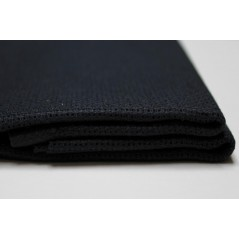 1 Pc Black appreter Cotton Aida 11ct 50 x 50 cm