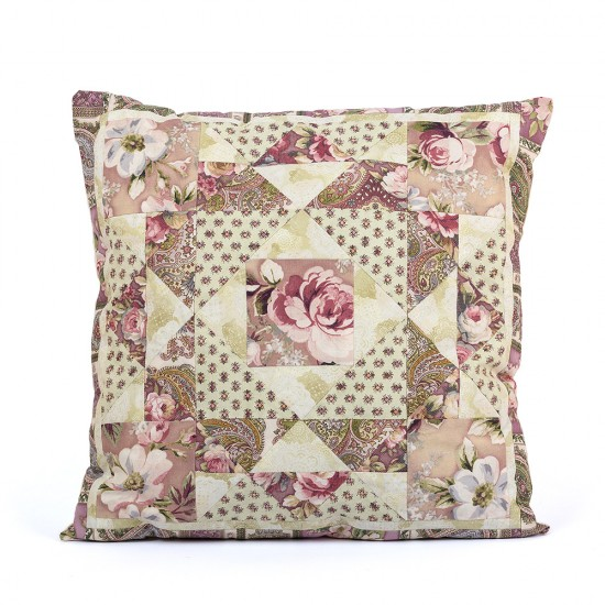Patchwork kit Gentle roses Pillow PLW-0104