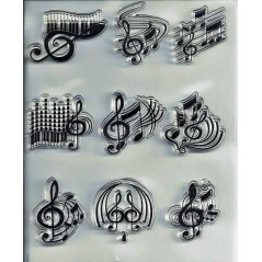 1 PC Transparent Silicone Clear Rubber Stamp Sheet Cling Scrapbooking Notes