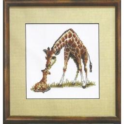 Cross Stitch Kit Giraffe A-064
