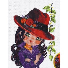 Cross Stitch Kit Beautiful girl art. 80-05