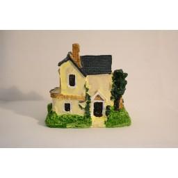 1 pc Mini Castle Fairy Garden Miniatures Castles Terrarium Figurines Garden Decoration Miniature House Villa Woodland Fairy Figurines