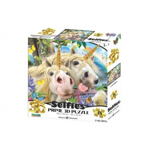 SELFIES – UNICORN PRIME 3D PUZZLE 48 PIECES