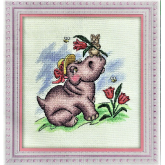 Cross Stitch Kit A Romantic Mood D-0628
